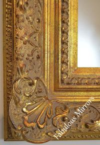 Decorative Antique Gold Wall Mirror - Full range of sizes ...